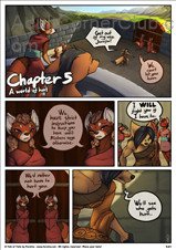 A Tale Of Tails Chapter 5 A World Of Hurt (Ongoing) Title Image