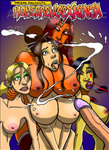 Home Brew Sex Ninja Chapter 2 Title Image