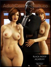 Black Wood Academy Title Image