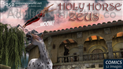 Holy Horse Of Zues Title Image