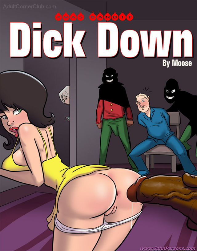 Xmas Bandit Dickdown Title Image
