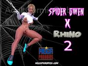 Mega Parodies Spider Gwen 2 Title Image