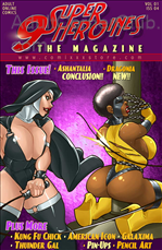 9 Superheroines Magazine 04 Title Image