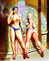 Krash Wonder Whores (Ongoing) Title Image