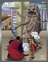 Justice League The Great Scott Saga Title Image
