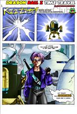 Dragon Ball Z Time Travel Title Image