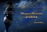 Demon Hunter Diana Chapter 1 Title Image