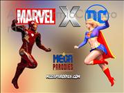 Marvel X DC Title Image