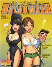 Saving Halloween Title Image