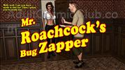 Nuit Bleu 3   Mr Roachcocks Bug Zapper Title Image