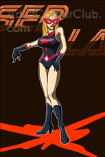 Laser Lady Complete Title Image