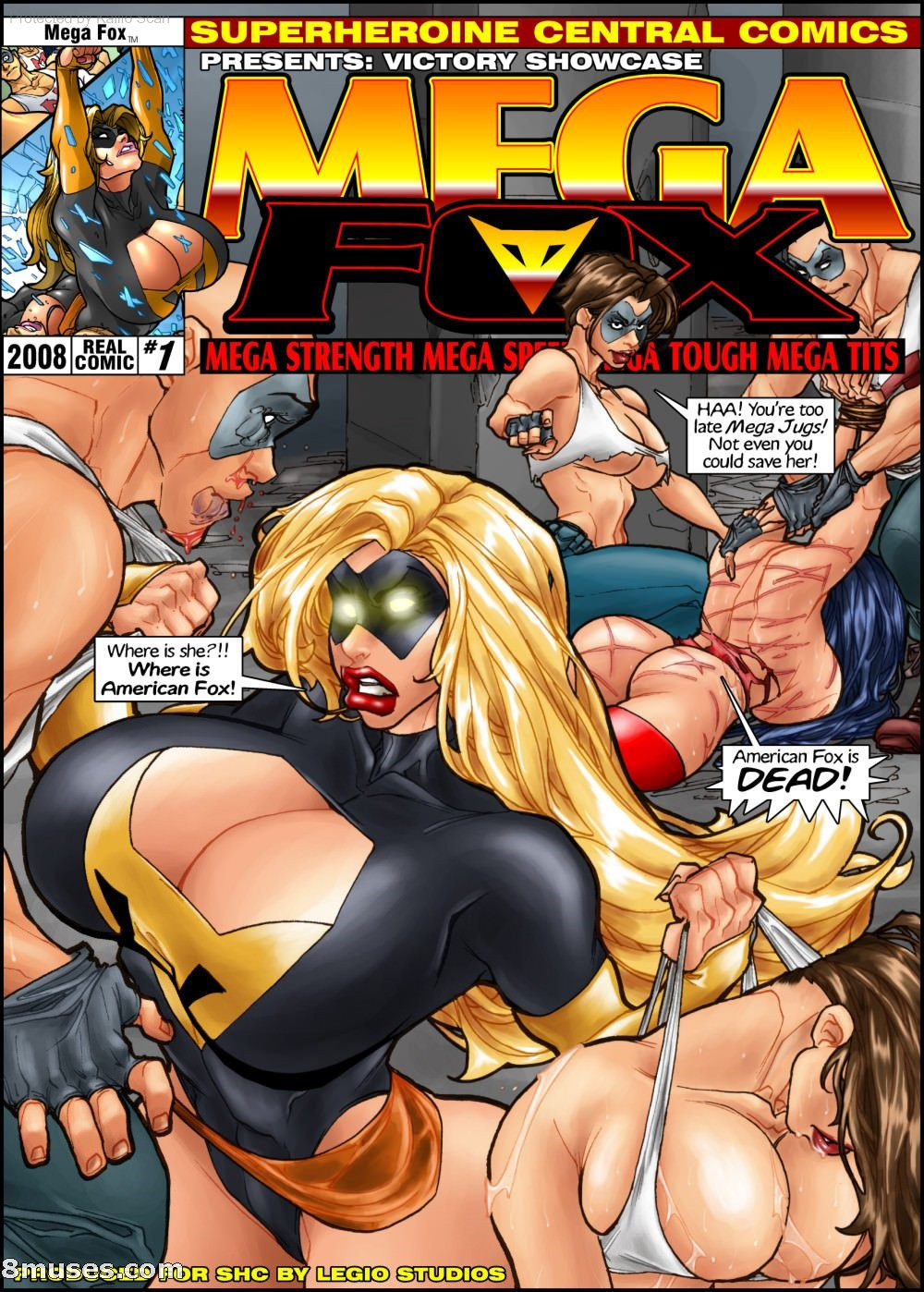 Mega Fox Issue 1 Title Image