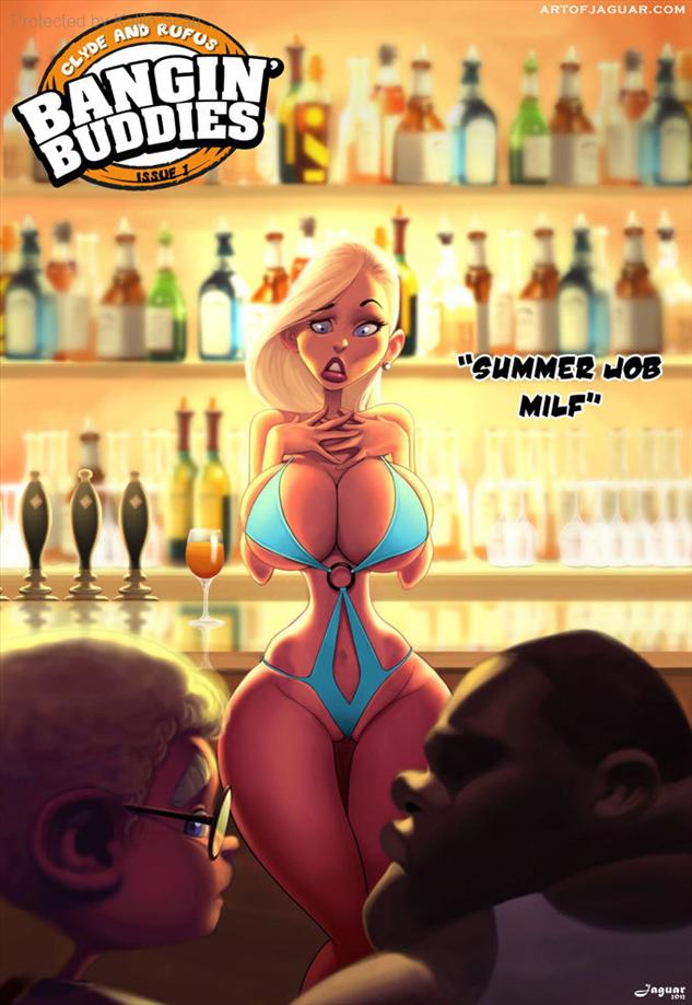 Bangin Buddies 1 Summer Job MILF Title Image