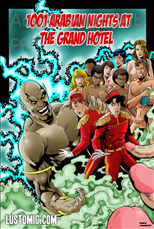 1001 Arabian Nights At The Grand Hotel Title Image