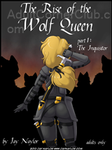 The Rise Of The Wolf Queen Part 1 Title Image