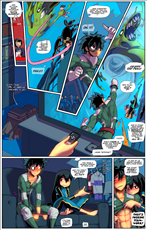 My Hero Academia Teamwork Title Image