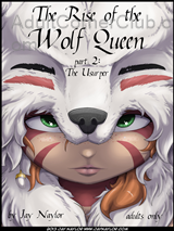 The Rise Of The Wolf Queen Part 2 Title Image